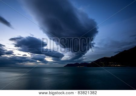 Storm Over Cinque Terre