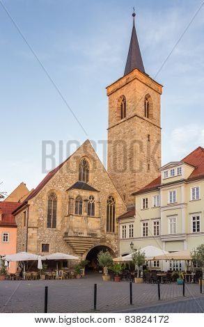 Church St. Lorenz In Erfurt, Germany