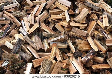 Fire Wood In A Considerable Quantity