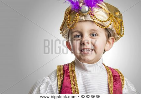 Sultan Child Smilling.