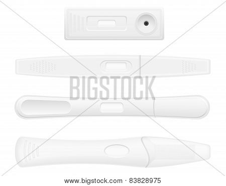 Pregnancy Test Vector Illustration