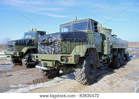 Army Fuel Trucks