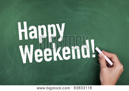 Happy Weekend Note