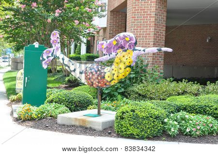 Mermaid in Norfolk, Virginia