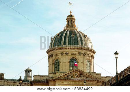 Library Mazarine In Paris Latin Quarter