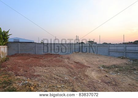 Empty Land For Sale Or Construction