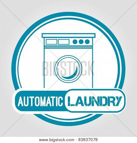 Icon Automatic laundry