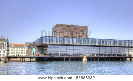 Opera Theater Is In City Copenhagen