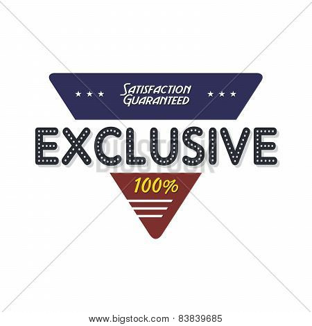 exclusive badge
