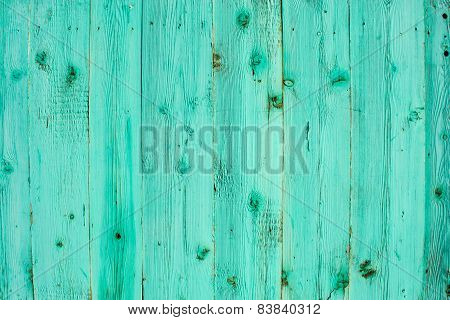 Blue Wooden Planks.