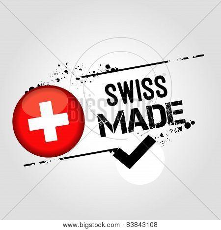 Stamp Swiss Made