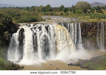 Blue Nile falls, Bahar Dar, Ethiopia