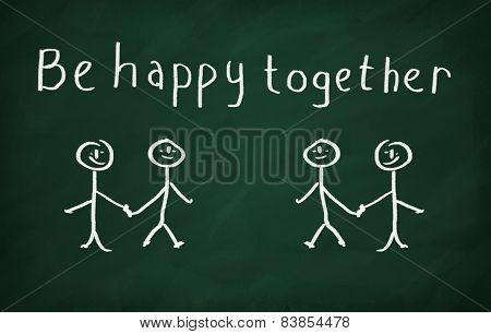 Be Happy Together