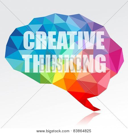 Creative thinking brain