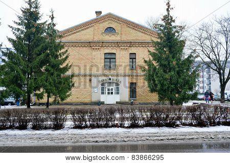 Vilnius City Labor Exchange House In Zirmunai District Nord City