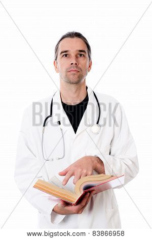 Young Doctor With Book