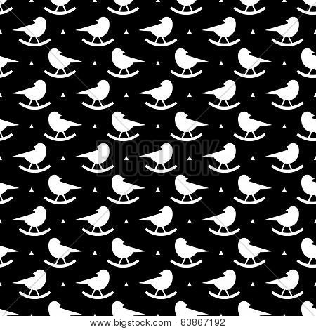 bird rocking pattern