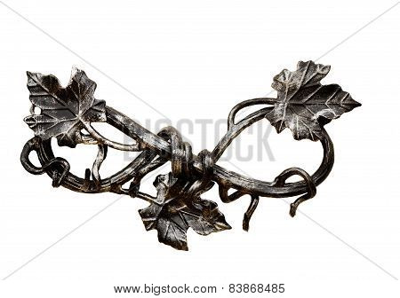Decorative Ornament, Made Of Metal, Handmade.