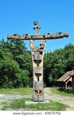 Wood Crucifix