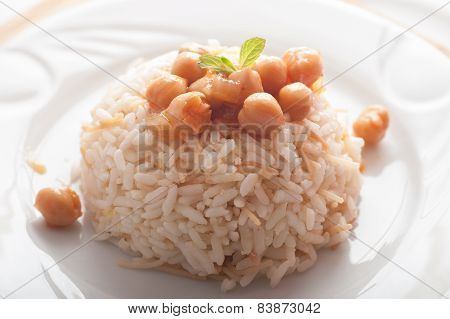 Rice And Chick Peas