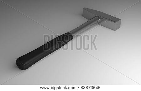 Hammer On Gray