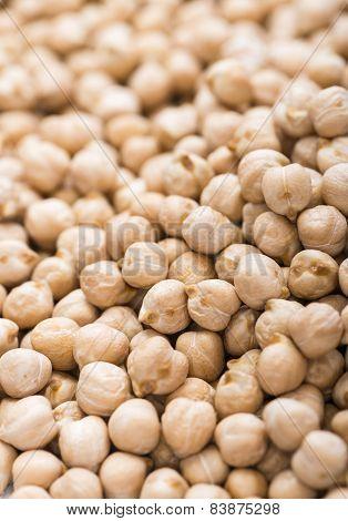 Chick Peas (macro Shot)