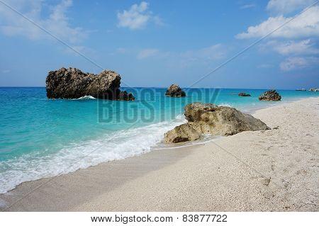Beach Megali Petra