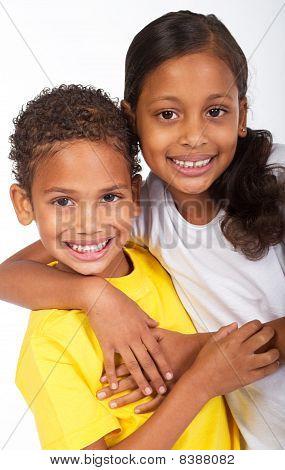 african american siblings
