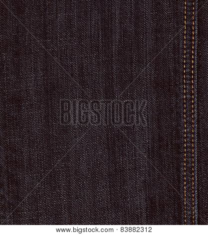 Black Jeans Denim Texture