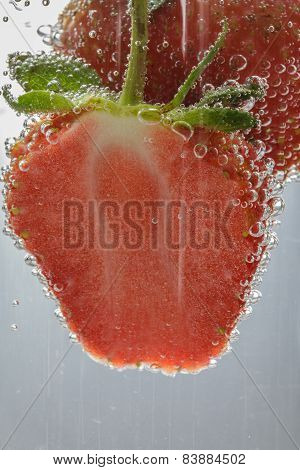 Close Up Strawberry