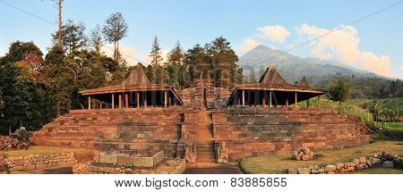 Candi Cetho Hindu temple, Java, Indonesia
