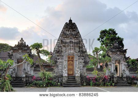 Hindu temple at Ubud, Bali, Indonesia