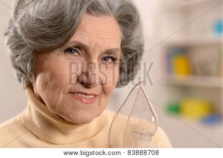 Portrait of a senior woman