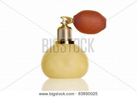 vintage marble perfume atomizer bottle