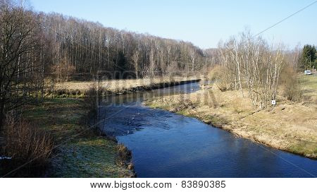 Valley of the River Freiberger Mulde
