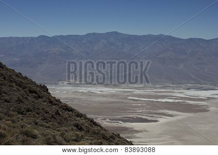 Panoramic View Of Death Valley National Park From Dante's View
