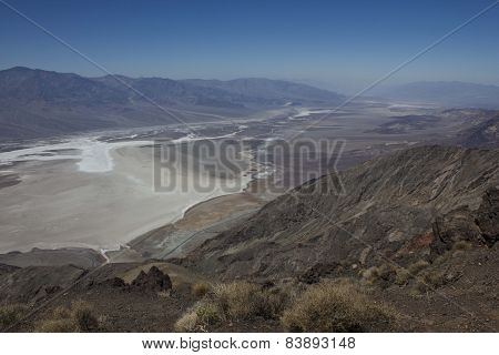 Panoramic View Of Death Valley National Park