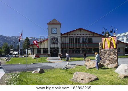 Traditional McDonalds In High Mountain