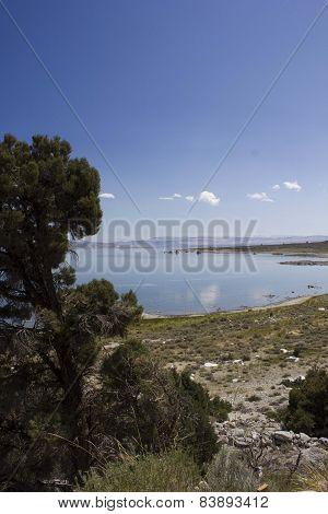 Beautiful Natural Scenery Around Mammoth Lakes In California