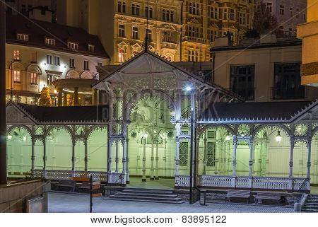 Market Colonnade,karlovy Vary; Czech Republic