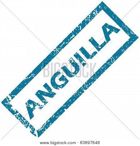 Anguilla rubber stamp