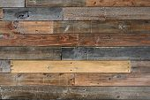 foto of wood design  - Close up of Old vintage wood textured background - JPG