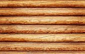 picture of log cabin  - Log house texture as a grunge background - JPG