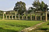foto of artemis  - Temple of Artemis of Vravrona at Attica - JPG
