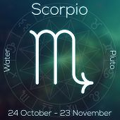 picture of scorpio  - Zodiac sign  - JPG