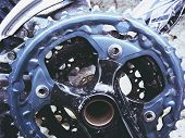 foto of bicycle gear  - A close up photograph of a bicycle - JPG