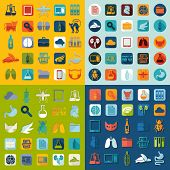 pic of veterinary  - It is a set of veterinary vector web icons - JPG