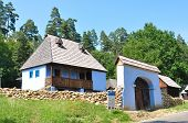 stock photo of sibiu  - sibiu romania ethno museum miner and goldsmith homestead - JPG