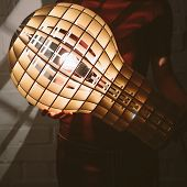 picture of lamp shade  - Hanging - JPG