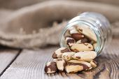 image of brazil nut  - Heap of Brazil Nuts  - JPG
